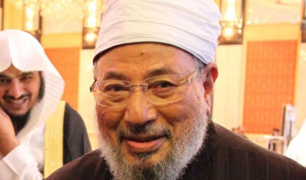 Al-Qaradawi, le grand imam modéré, à son arrivée à Gaza : « Je fais vœu de mourir pour  le Jihad »