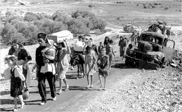 Les Britanniques démentent la thèse de l'expulsion massive des Arabes