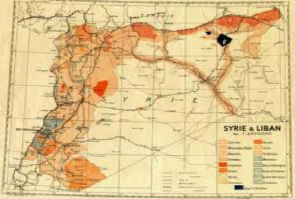 L'effacement des frontières au Proche-Orient