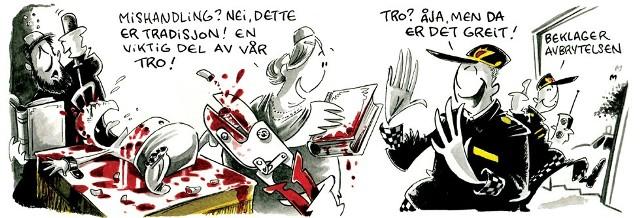 Un journal norvégien publie une caricature scandaleuse et antisémite