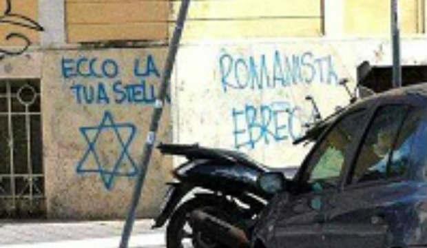 L'antisémitisme envahit les murs de Rome