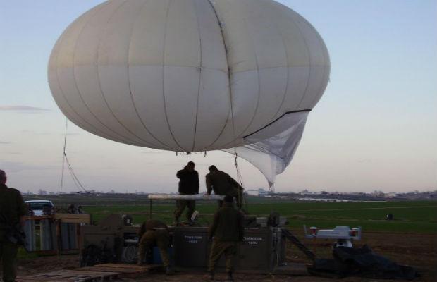 Israël : Haut dans les cieux : la surveillance aérienne le long de la frontière de Gaza