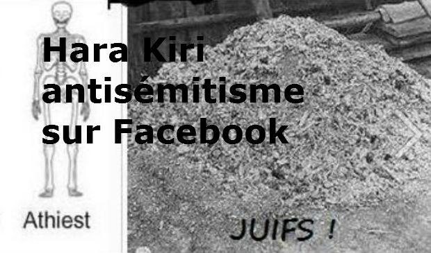 Humour noir ? non ANTISEMITISME sur Facebook – Mise à jour : Une bataille de gagnée, Facebook, retire la photo ignoble