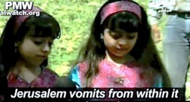 Scandale – Autorité Palestinienne : l'enseignement aux enfants du racisme confessionnel – vidéo
