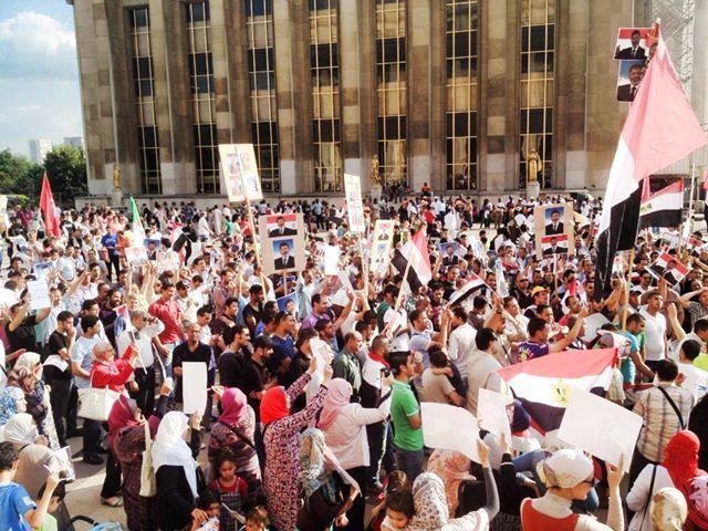 7 juillet : La préfecture a autorisé une manifestation pro-Morsi au Trocadéro