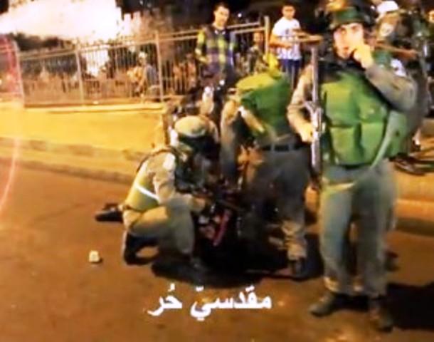 Jérusalem : émeute arabe, attaques de véhicules, caillassages de pare-brises