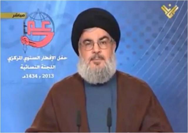 """Hassan Nasrallah : """"La décision de l'UE n'arrêtera pas notre envie de terroriser les civils du monde entier"""""""