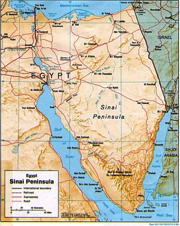 Un accord secret entre Obama et les Frères Musulmans pour céder 40% du Sinaï à Gaza?