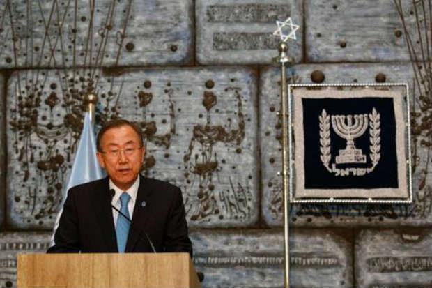 Acharnement de l'ONU contre Israël : fantasme victimaire ? Non, dit Ban Ki-moon