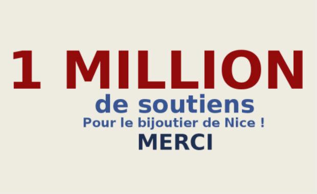 Bijoutier de Nice: légitime défense ou exaspération due au climat de peur ? 1 million de personnes apportent leur soutien au bijoutier de Nice