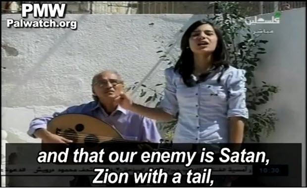 TV Palestinienne : «poésie» et musique n'adoucissent pas les moeurs