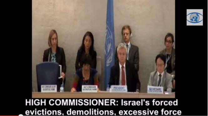 Pendant qu'on gaze des civils en Syrie le Conseil des Droits de l'Homme de l'ONU consacre ses séances à critiquer Israël !