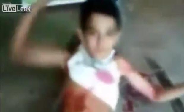Vidéo : En Syrie, Pallywood fait des émules, un enfant syrien ressuscite…