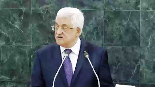 Tout ce que Mahmoud Abbas n'a pas dit dans son discours aux Nations Unies