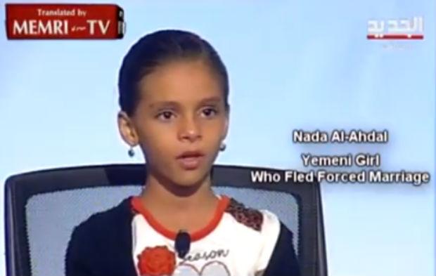 Vidéo: témoignage de la petite Nada al-Ahdal, 10 ans, qui a fui un mariage forcé