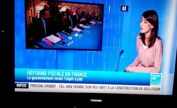 France Télévision: pour France 24 Israël n'existe pas et Jérusalem n'en est pas la capitale…