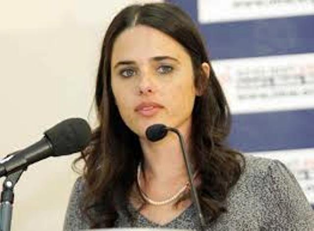MK Shaked à Washington : les arabes de Judée-Samarie seront des citoyens jordaniens