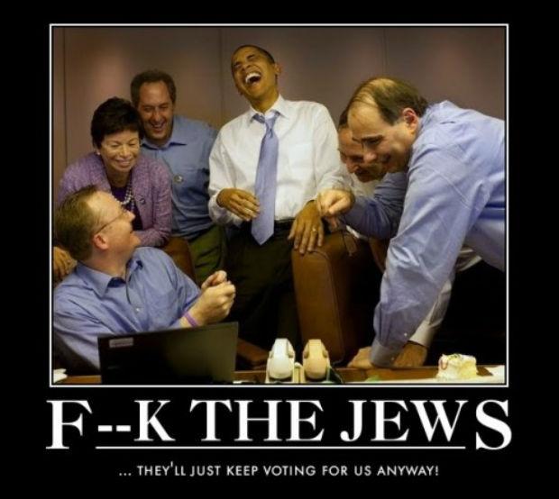 Obama est en guerre contre les Juifs, par Guy Millière
