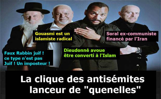 La «quenelle» est un signe antisémite, n'en déplaise aux décérébrés qui la propagent sans savoir: la preuve en image !