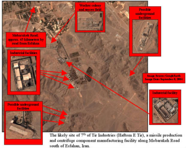 L'Iran construit un nouveau site nucléaire secret, selon des dissidents iraniens en exil