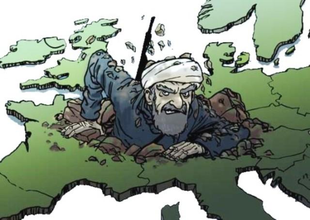 Le cauchemar des multiculturalistes : 50% des musulmans d'Europe réclament l'islamisation et la Charia