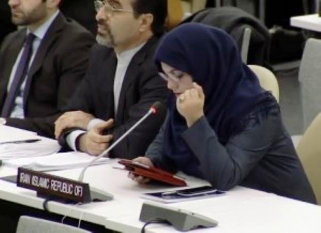 L'Iran annonce son refus de reconnaître Israël à la session des Nations Unies