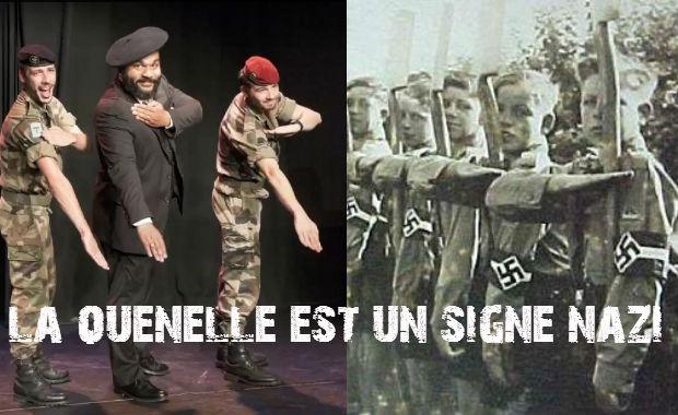 Scoop: voici l'origine de la «Quenelle» de l'antisémite Dieudonné, c'est bien un signe nazi !