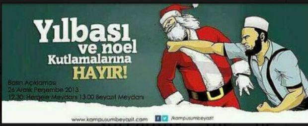 Campagnes de harcèlement anti-Noël en Turquie et au Danemark