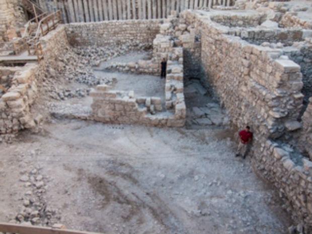 Première : découverte d'un bâtiment datant de la période hasmonéenne dans la Cité de David à Jérusalem