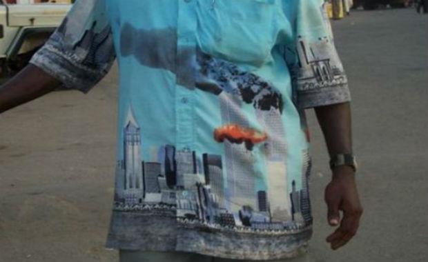 En vente dans certaines mosquées: des tshirts qui font du 11 septembre un jour de gloire de l'Islam…