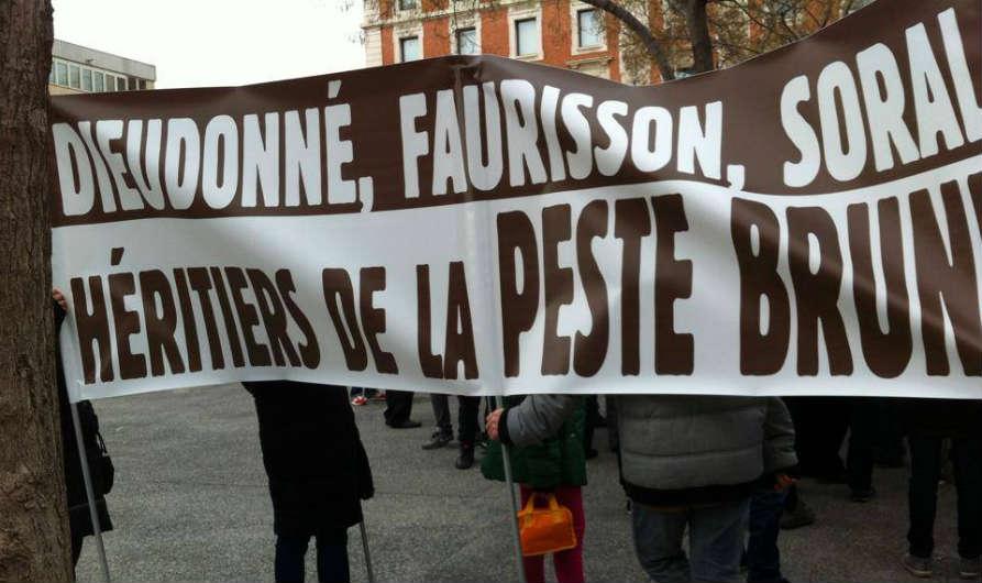 Manifestation anti-Dieudonné à Marseille dimanche 2 février 2014