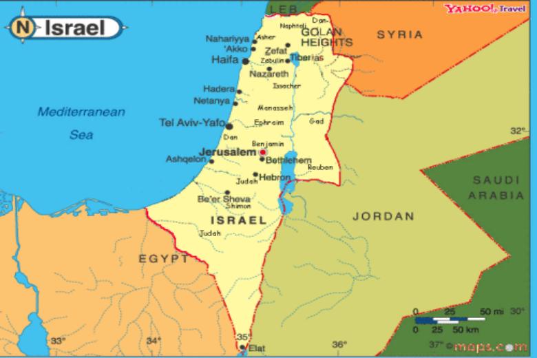 Constructions, « colonies », frontière de 67: ce n'est pas la taille d'Israël qui gêne l'Europe, c'est Israël