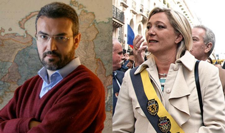 Politique étrangère de Marine Le Pen: alliée de l'Iran , contre l'Amérique et Israël