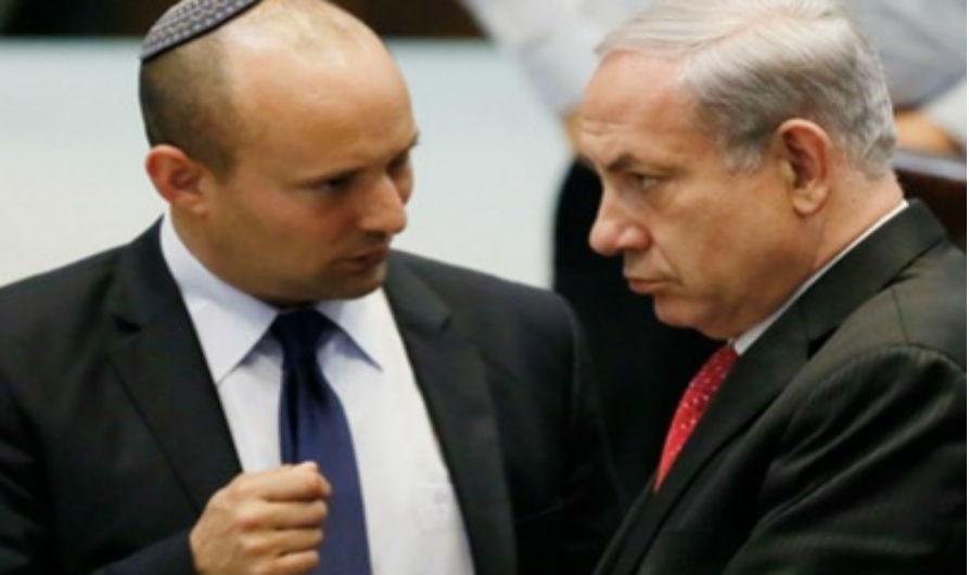 Bennett demande à Netanyahu de rejeter la solution à deux états avant la visite de Trump
