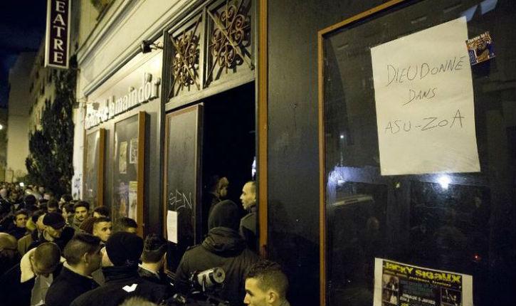 Bataille au tribunal entre Dieudonné l'antisémite et les propriétaires de la Main d'or