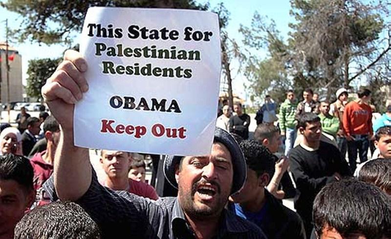 Abbas et Obama : L'Axe du mensonge OU comment Obama s'est enferré dans ses mensonges.