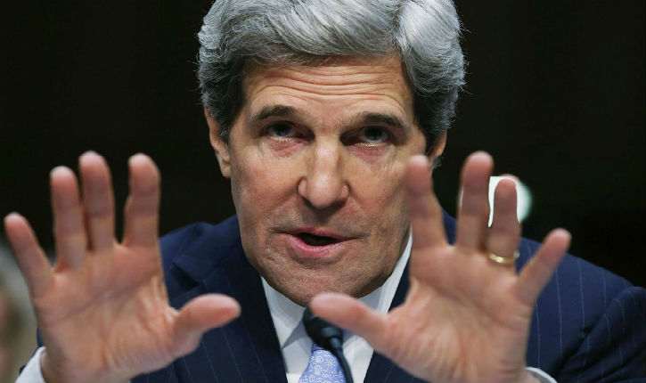 [Vidéo] Dernière tentative de menace de John Kerry à Israël : «les implantations ou la paix»
