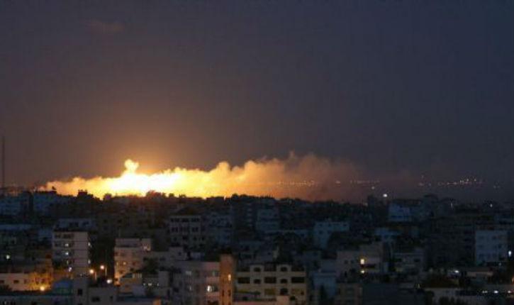 Israël lance des frappes sur Gaza après des tirs de roquettes, l'«alerte rouge» déclenchée