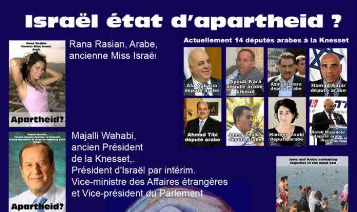 Outils pour lutter contre la semaine de l'apartheid anti-israélienne