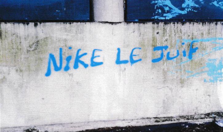 Antisémitisme: des  tags antisémites sur les murs de la synagogue de Garges ce 14 Mars 2014 au matin !