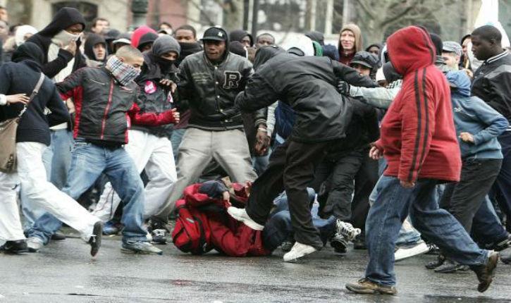 Le Mans, la Justice dans le déni du racisme anti-blanc : Une bande de racailles, qui chassait et agressait «les blancs» n'est pas poursuivie pour racisme…