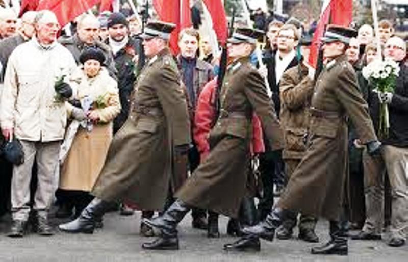 Dimanche 16 mars : Parade annuelle des anciens Waffen SS lettons à Riga