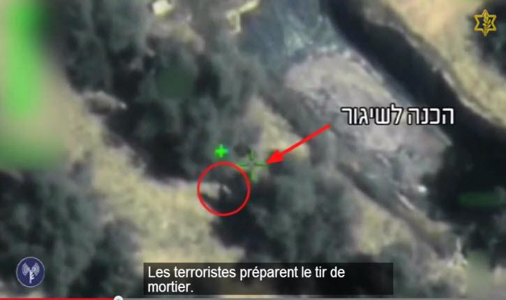 Vidéo: des terroristes affiliés au Jihad islamique palestinien dans le sud de la bande de Gaza tirent des obus de mortier