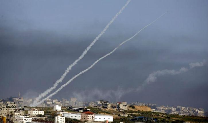 MAJ: fausse alerte. Alerte info: 4 roquettes sont tombées dans la région d'Aschkelon ce matin