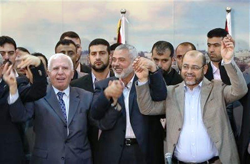 Les États-Unis vont réévaluer leur aide si le Hamas et l'OLP forment un  gouvernement.