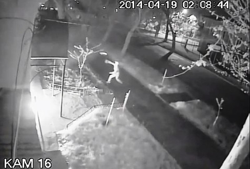 Ukraine : Une synagogue attaquée à la bombe incendiaire (Vidéo)