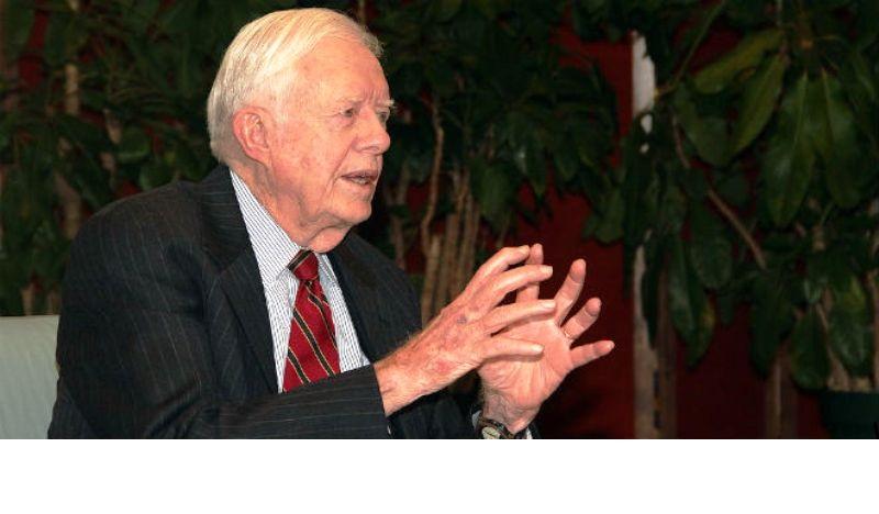 Jimmy Carter soutient les demandes de la «Palestine» aux Nations Unies