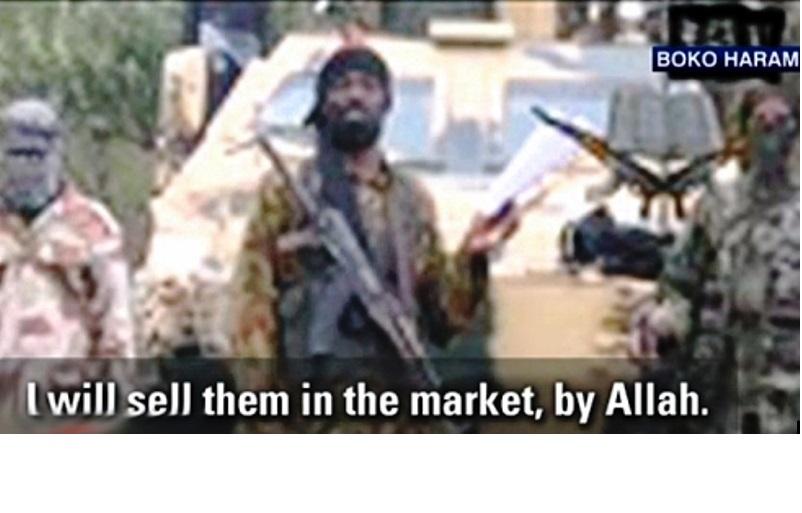"""L'affaire des """"esclaves sexuelles"""" du Nigéria, contrarie le récit idyllique d'Obama sur l'Islam."""