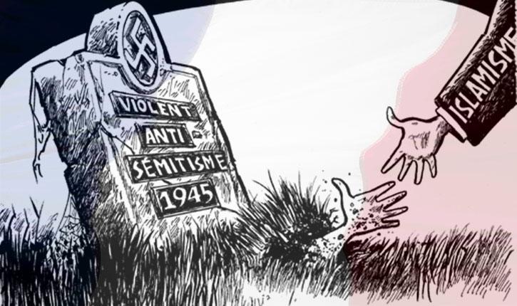 France: championne d'Europe de la haine du Juif.