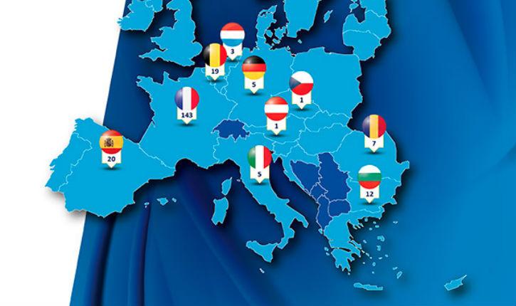 Europol : la France concentre 66% des terroristes musulmans d'Europe !